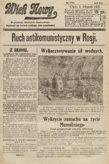 Wiek Nowy : popularny dziennik ilustrowany. 1925, nr7313