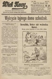 Wiek Nowy : popularny dziennik ilustrowany. 1925, nr7318