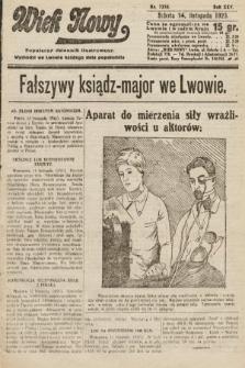 Wiek Nowy : popularny dziennik ilustrowany. 1925, nr7319