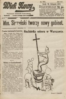Wiek Nowy : popularny dziennik ilustrowany. 1925, nr7322