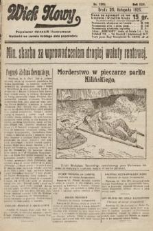 Wiek Nowy : popularny dziennik ilustrowany. 1925, nr7328