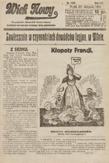Wiek Nowy : popularny dziennik ilustrowany. 1925, nr7330