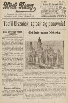 Wiek Nowy : popularny dziennik ilustrowany. 1925, nr7331