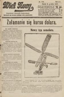 Wiek Nowy : popularny dziennik ilustrowany. 1925, nr7336