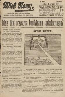Wiek Nowy : popularny dziennik ilustrowany. 1925, nr7337
