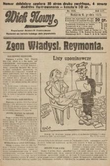 Wiek Nowy : popularny dziennik ilustrowany. 1925, nr7338