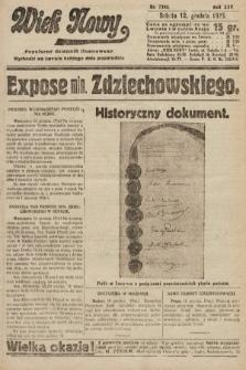 Wiek Nowy : popularny dziennik ilustrowany. 1925, nr7342