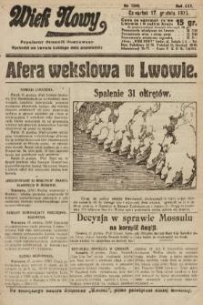 Wiek Nowy : popularny dziennik ilustrowany. 1925, nr7346