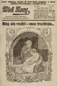 Wiek Nowy : popularny dziennik ilustrowany. 1925, nr7353