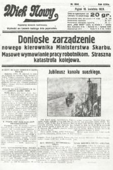 Wiek Nowy : popularny dziennik ilustrowany. 1929, nr8348