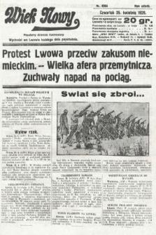 Wiek Nowy : popularny dziennik ilustrowany. 1929, nr8353