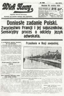 Wiek Nowy : popularny dziennik ilustrowany. 1929, nr8356