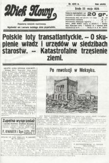 Wiek Nowy : popularny dziennik ilustrowany. 1929, nr8373