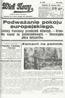 Wiek Nowy : popularny dziennik ilustrowany. 1929, nr8394