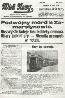 Wiek Nowy : popularny dziennik ilustrowany. 1929, nr8408