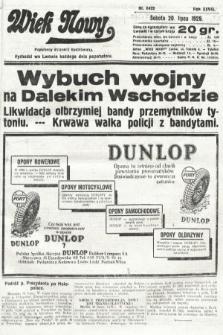 Wiek Nowy : popularny dziennik ilustrowany. 1929, nr8422