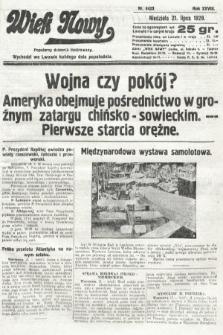 Wiek Nowy : popularny dziennik ilustrowany. 1929, nr8423