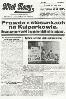Wiek Nowy : popularny dziennik ilustrowany. 1929, nr8426