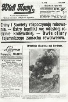 Wiek Nowy : popularny dziennik ilustrowany. 1929, nr8429