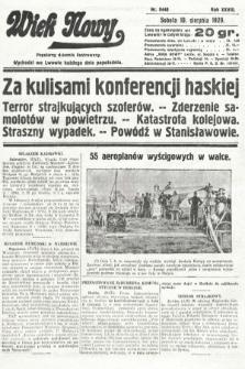 Wiek Nowy : popularny dziennik ilustrowany. 1929, nr8440
