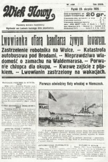 Wiek Nowy : popularny dziennik ilustrowany. 1929, nr8450