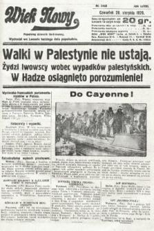 Wiek Nowy : popularny dziennik ilustrowany. 1929, nr8455
