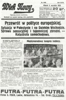 Wiek Nowy : popularny dziennik ilustrowany. 1929, nr8459