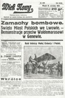 Wiek Nowy : popularny dziennik ilustrowany. 1929, nr8465