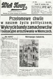 Wiek Nowy : popularny dziennik ilustrowany. 1929, nr8468