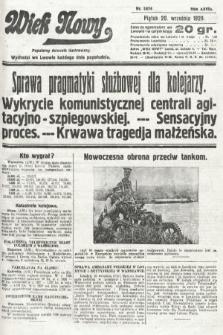 Wiek Nowy : popularny dziennik ilustrowany. 1929, nr8474