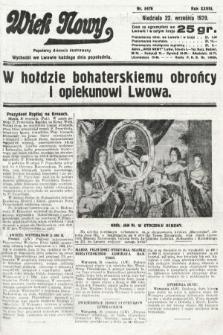 Wiek Nowy : popularny dziennik ilustrowany. 1929, nr8476