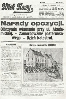 Wiek Nowy : popularny dziennik ilustrowany. 1929, nr8480