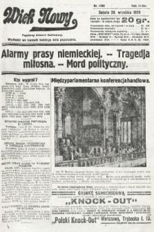 Wiek Nowy : popularny dziennik ilustrowany. 1929, nr8481