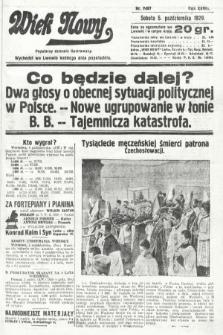 Wiek Nowy : popularny dziennik ilustrowany. 1929, nr8487