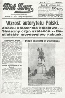 Wiek Nowy : popularny dziennik ilustrowany. 1929, nr8493