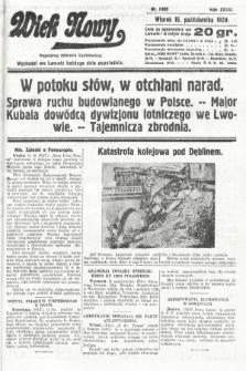 Wiek Nowy : popularny dziennik ilustrowany. 1929, nr8495