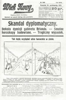 Wiek Nowy : popularny dziennik ilustrowany. 1929, nr8503