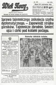 Wiek Nowy : popularny dziennik ilustrowany. 1929, nr8507