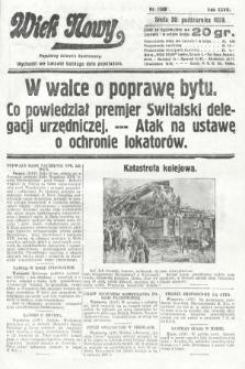 Wiek Nowy : popularny dziennik ilustrowany. 1929, nr8508
