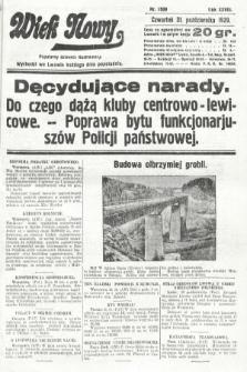 Wiek Nowy : popularny dziennik ilustrowany. 1929, nr8509