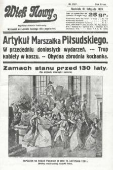 Wiek Nowy : popularny dziennik ilustrowany. 1929, nr8517