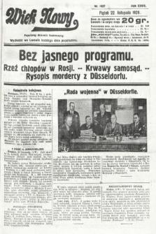 Wiek Nowy : popularny dziennik ilustrowany. 1929, nr8527