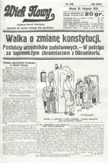 Wiek Nowy : popularny dziennik ilustrowany. 1929, nr8530