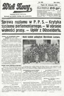 Wiek Nowy : popularny dziennik ilustrowany. 1929, nr8533