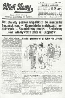 Wiek Nowy : popularny dziennik ilustrowany. 1929, nr8535
