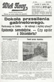 Wiek Nowy : popularny dziennik ilustrowany. 1929, nr8544