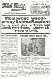 Wiek Nowy : popularny dziennik ilustrowany. 1929, nr8550