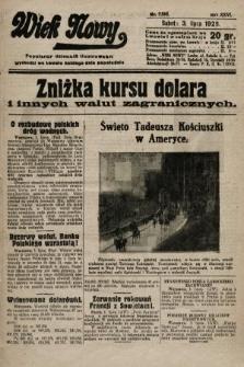Wiek Nowy : popularny dziennik ilustrowany. 1926, nr7505