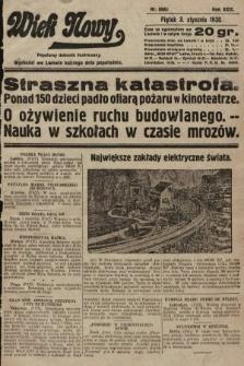 Wiek Nowy : popularny dziennik ilustrowany. 1930, nr8560