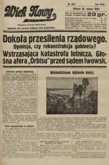 Wiek Nowy : popularny dziennik ilustrowany. 1930, nr8622
